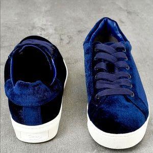 NWT / Sam Edelman / Velvet Sneakers